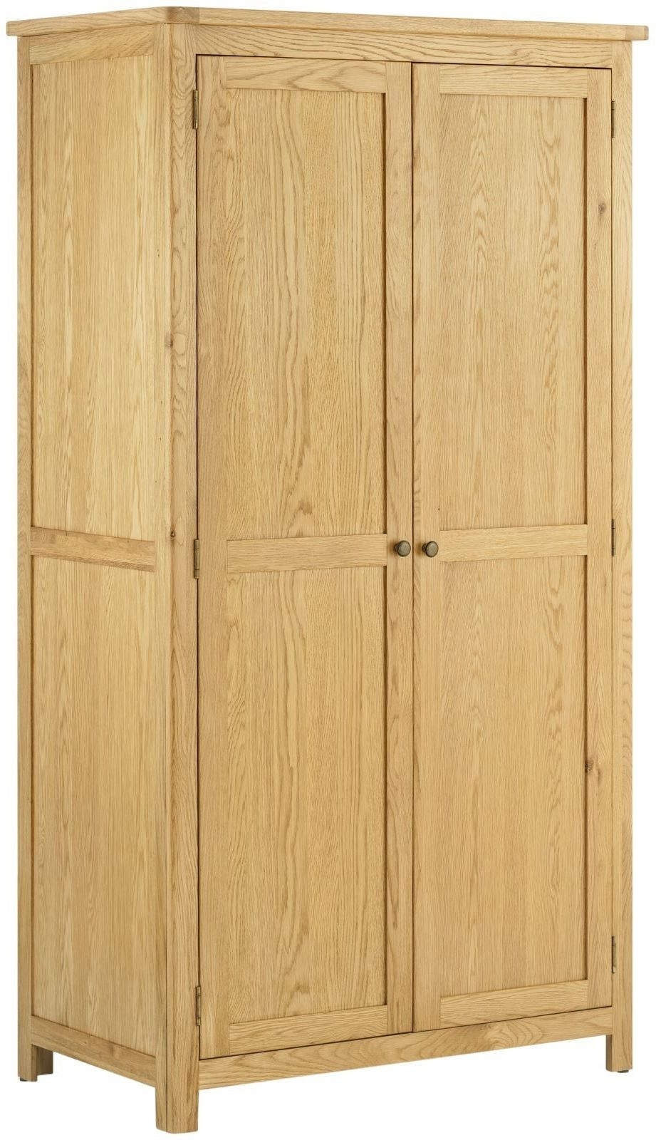 Stratton Oak Wardrobe 2 doors