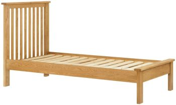 Stratton Oak Bed Frame Single