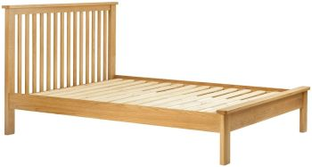 Stratton Oak Bed Frame King Size