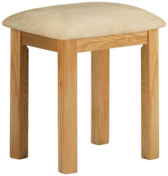 Stratton Oak Dressing Table Stool