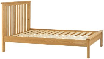 Stratton Oak Bed Frame Double Size