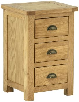 Stratton Oak Chest Bedside