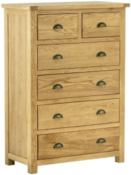 Stratton Oak Chest 2 over 4