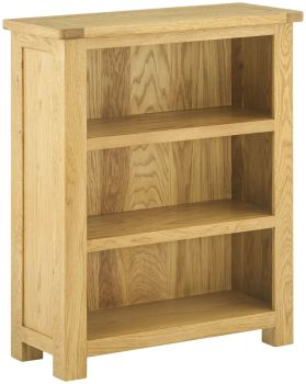 Stratton Oak Bookcase Small