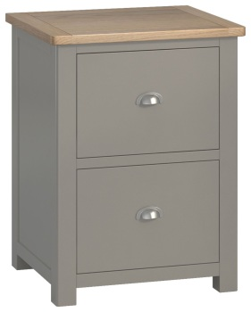 Stratton Stone Office Filing Cabinet 2 Drawer