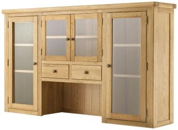 Stratton Oak Dresser Top 4 Door Grand