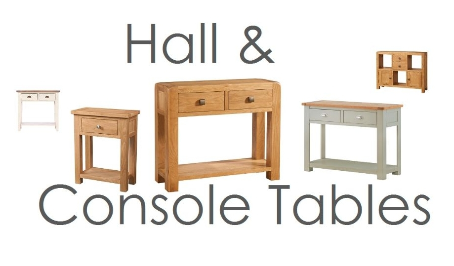 Hall Tables and Console Tables