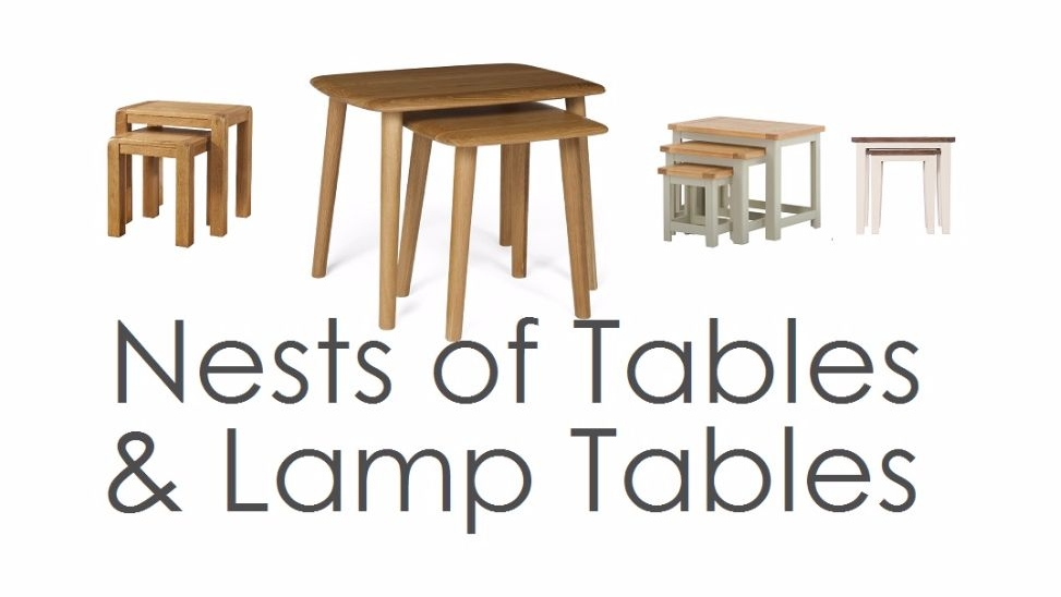 Nests and Lamp Tables
