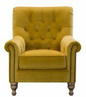 Sofia Chair in Plush Turmeric