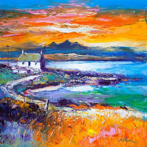 A Jura Sunset from Port Nan Gallan, Keills