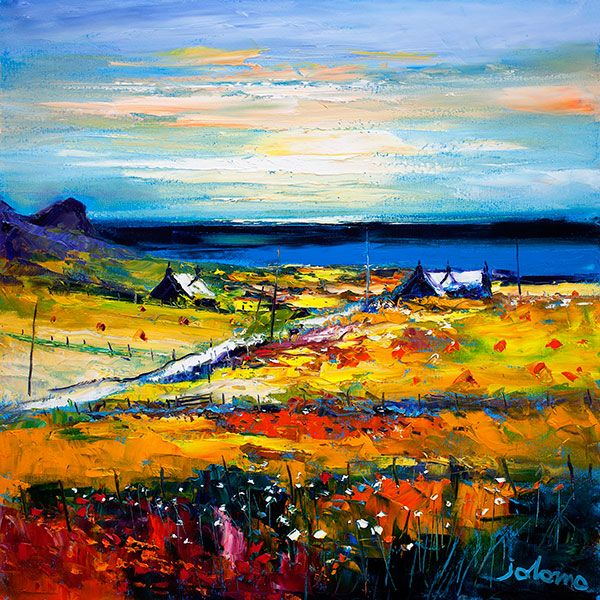 Autumn Light at Kilchattan, Isle of Colonsay