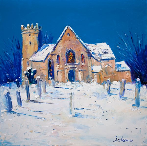 Heavy Snowfall, Cramond Kirk