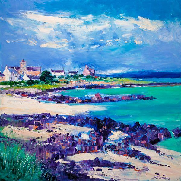 Summer Light at St Ronan's Bay, Iona