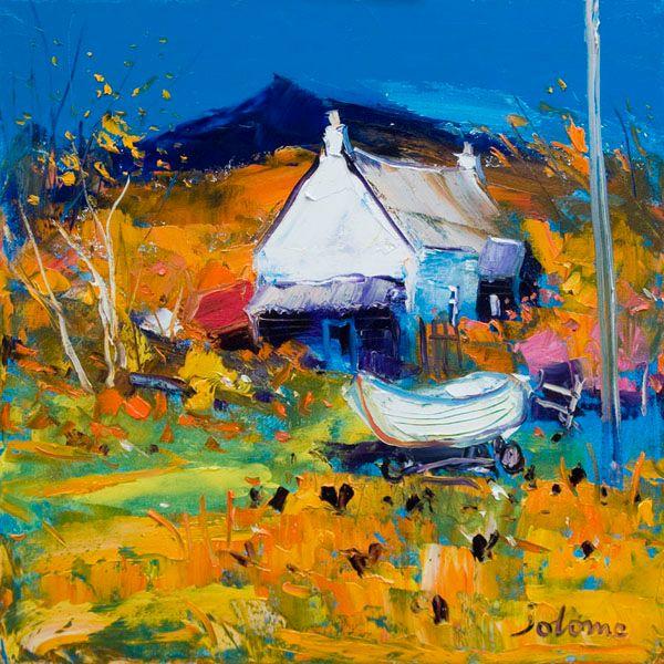 Croft, Boat & Hens, Ballygowan, Isle of Mull