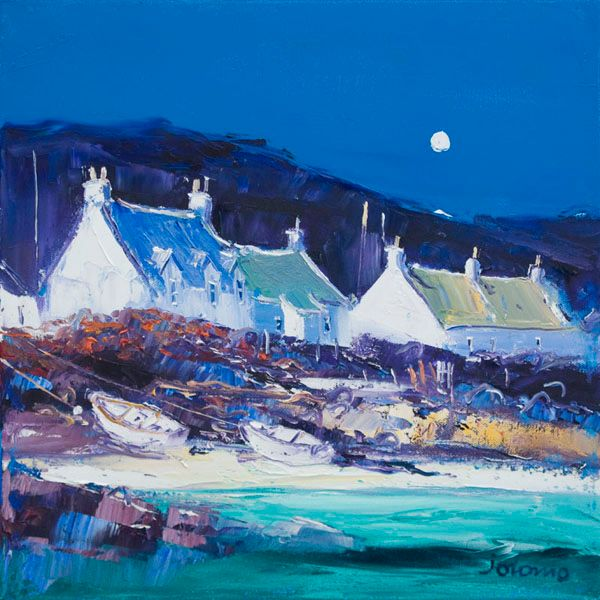 Moon Over the Village, Iona