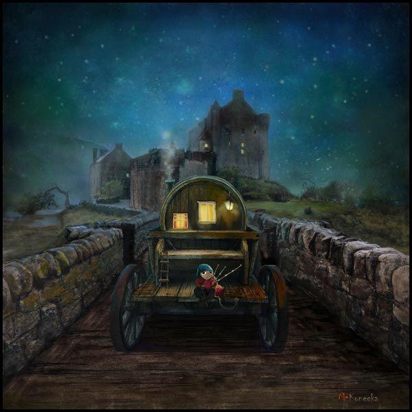 The Eilean Donan Piper (Loch Duich)