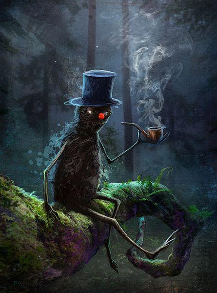 The Pipe Smoker's Tree