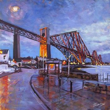 The Rail Bridge from North Queensferry