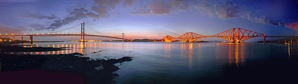 Dusk on the Forth