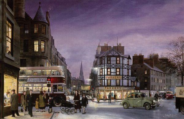 Bristo Street in the 1950's