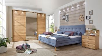 Arya Sliding 3 Door Wardrobe w250 x h236