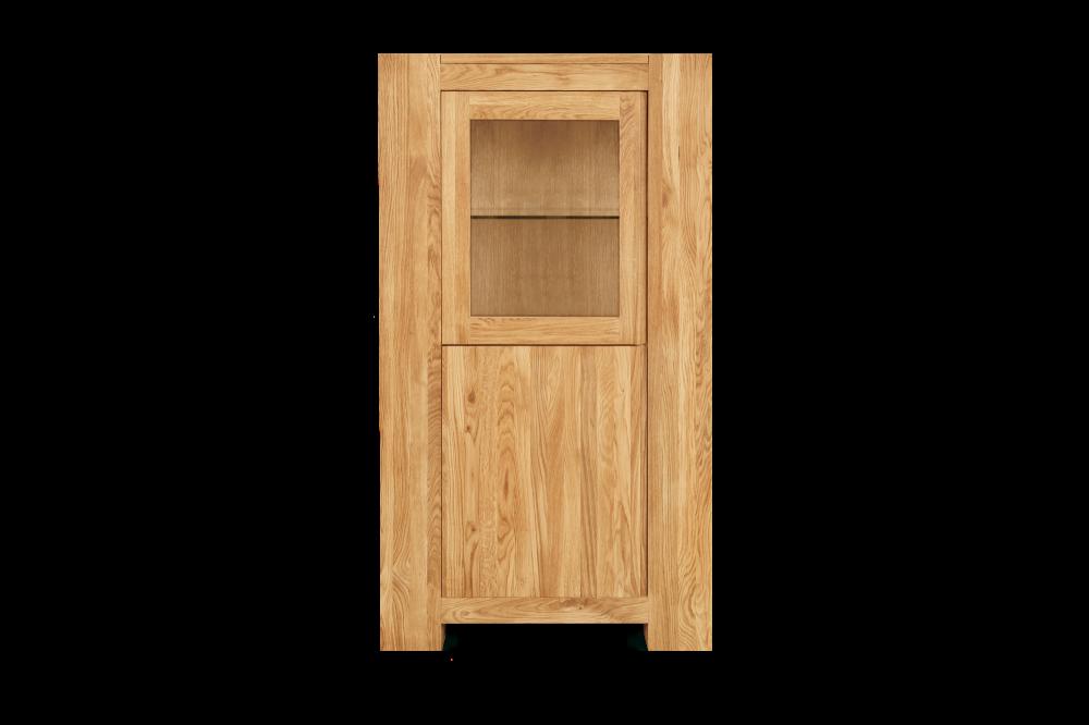 Loft 1 Door Display Cabinet