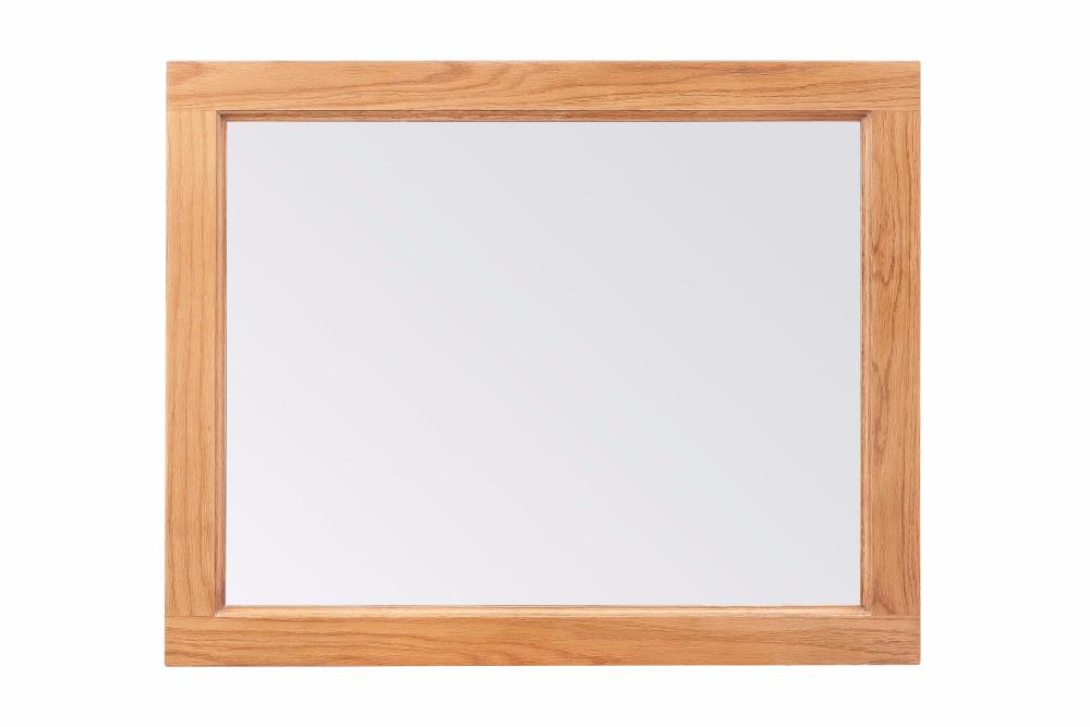Windermere Oak Mirror 1300W 900H