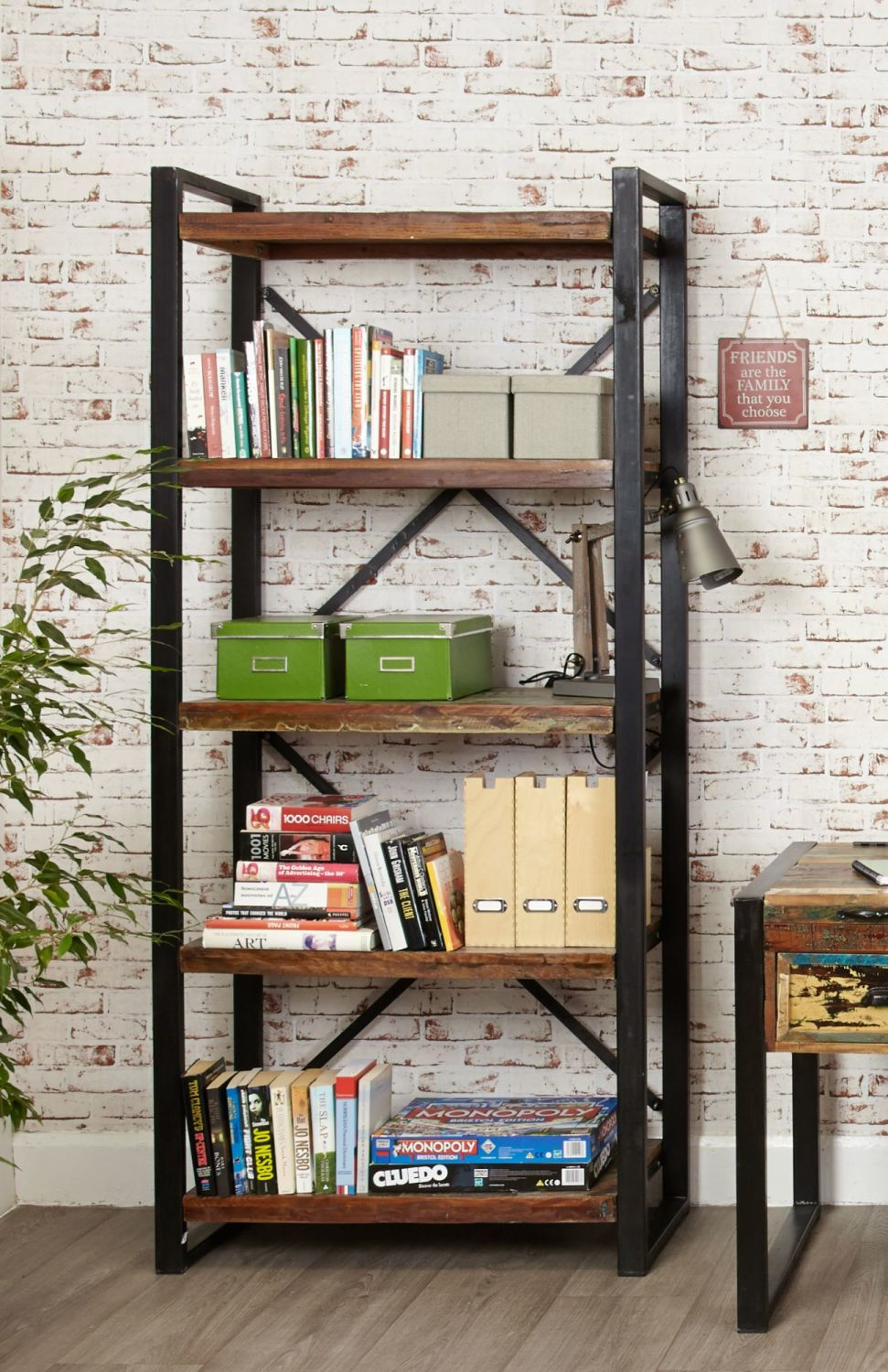 Ajai Recycled Bookcase Large Open
