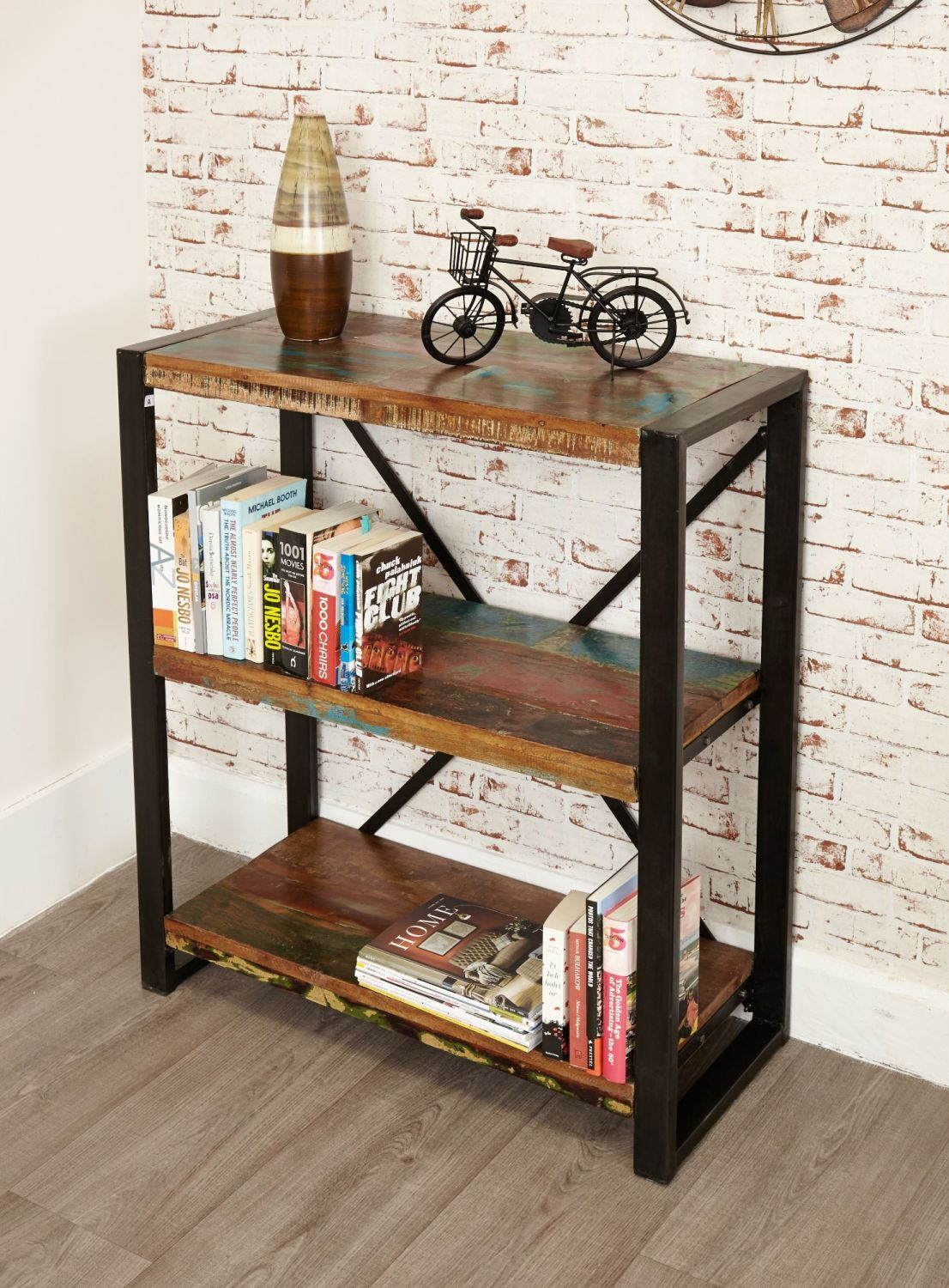 Ajai Recycled Bookcase Low