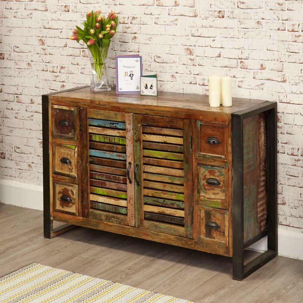 Ajai Recycled Sideboard 6 Drawer