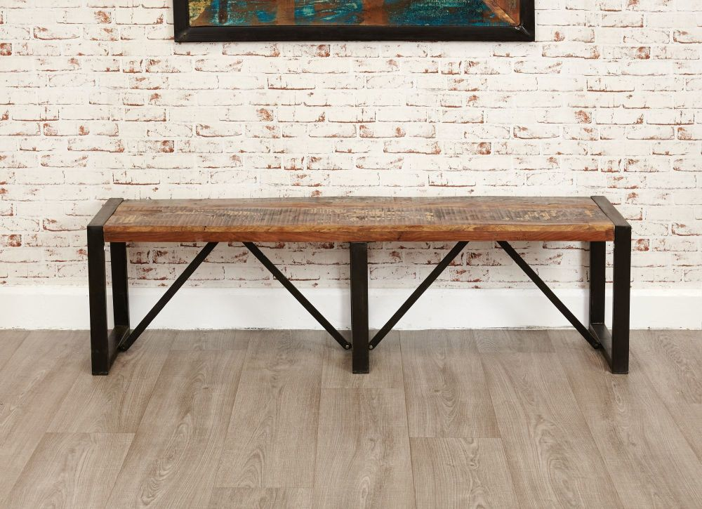 Ajai Recycled Dining Bench Large