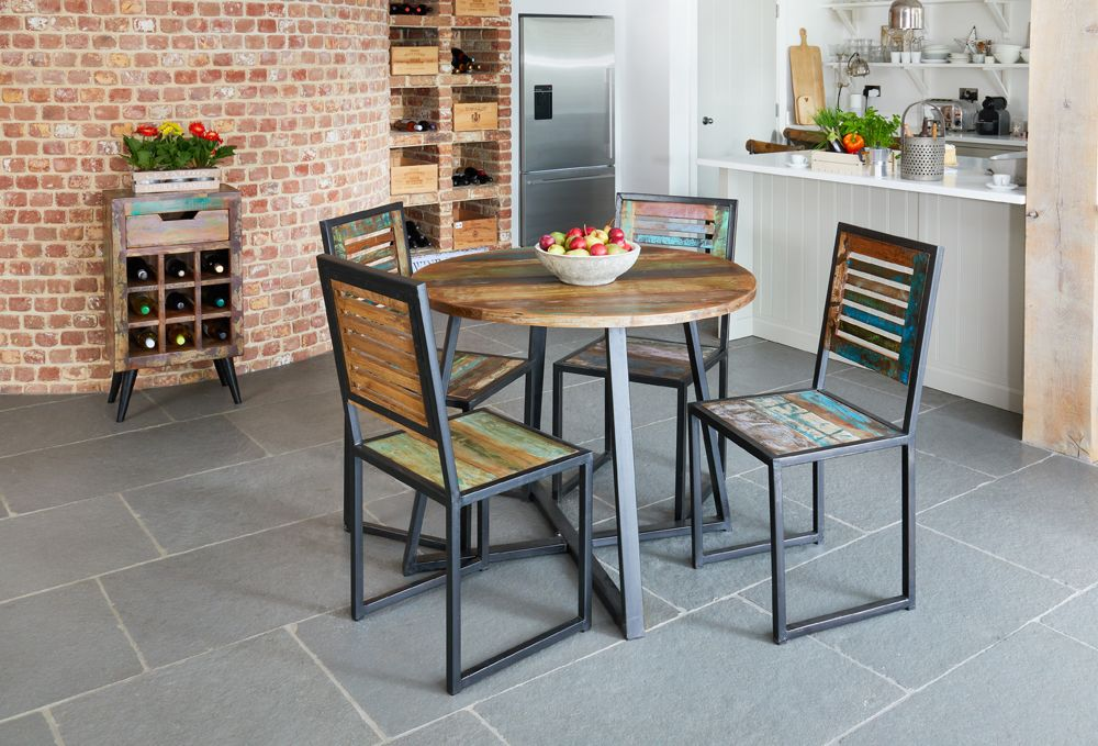 Ajai Recycled Dining Table Round