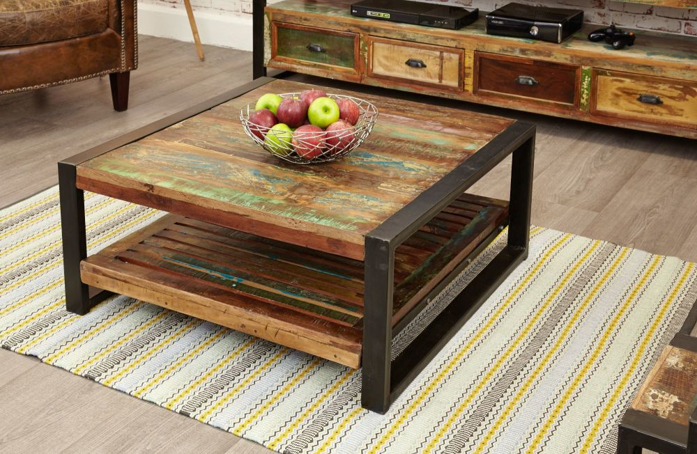 Ajai Recycled Square Coffee Table