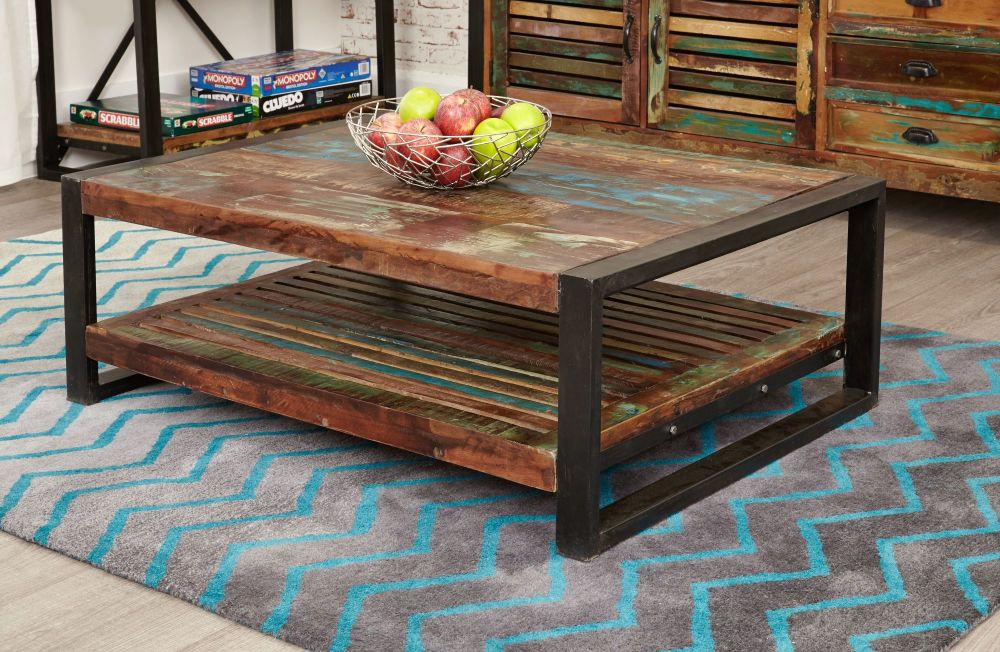 Ajai Recycled Coffee Table Rectangle