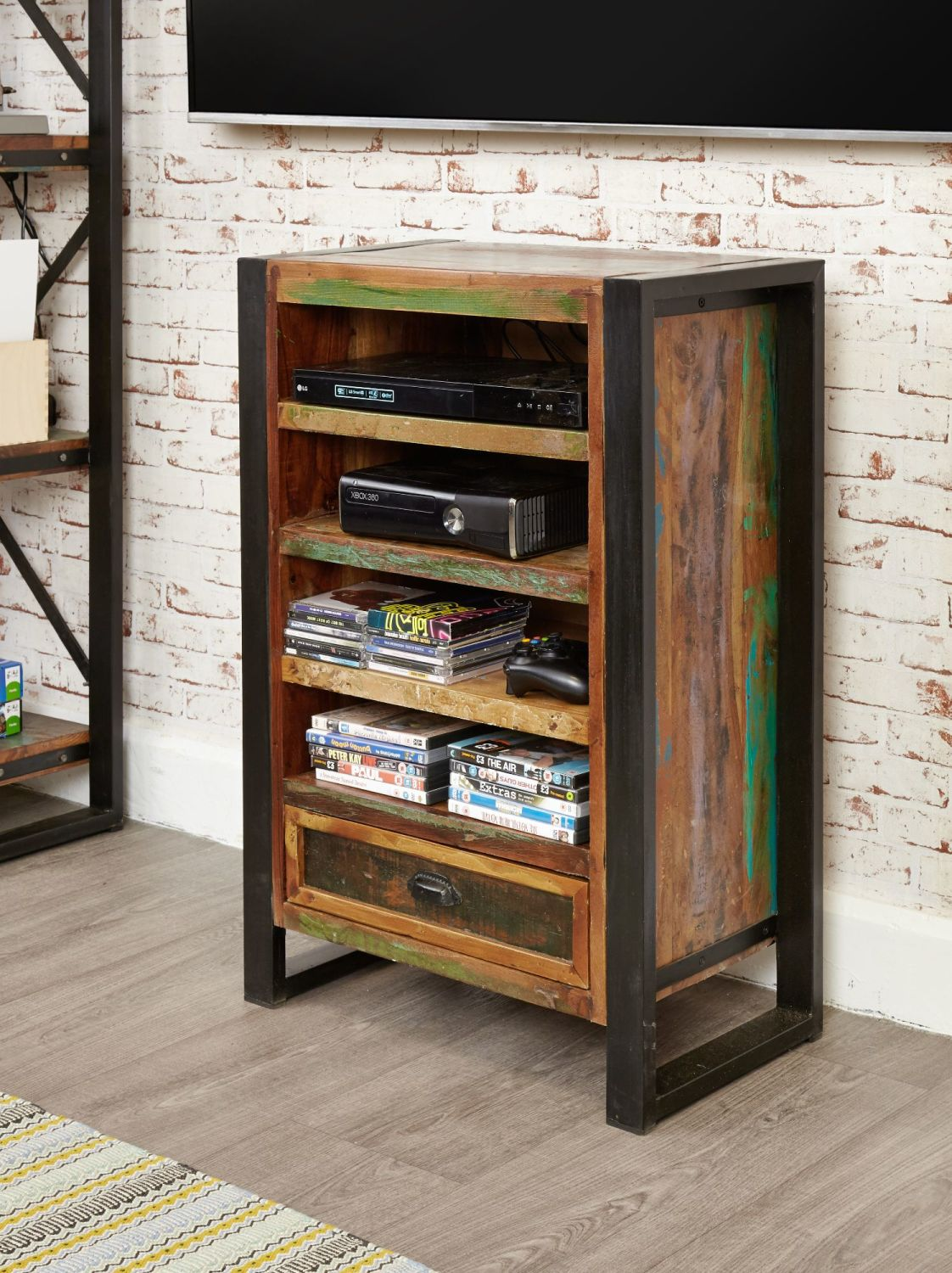 Ajai Recycled Entertainment Cabinet