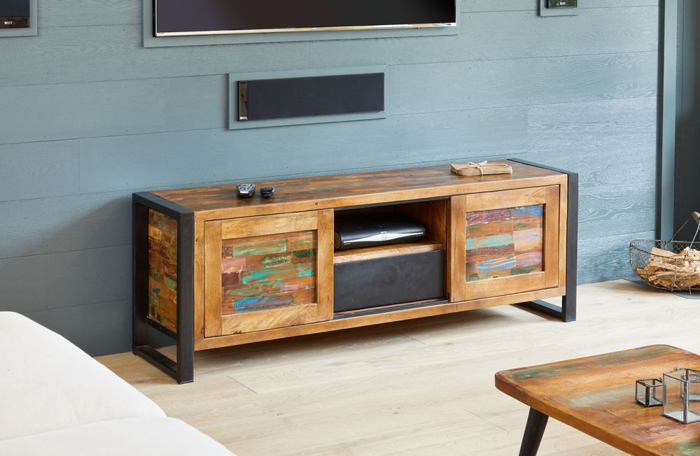 Ajai Recycled Television Cabinet (Widescreen)