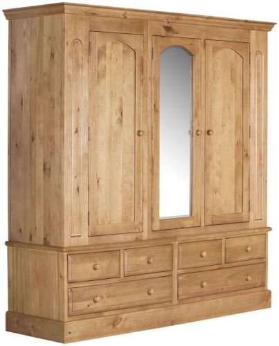 and pine painted wardrobe photo large chalk hanging cupboard listings space drawers with