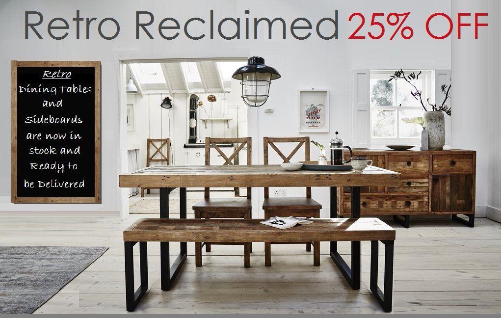 Retro Reclaimed Dining