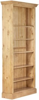 Antique Pine Bookcase Tall