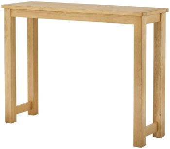 Stratton Oak Dining Breakfast Bar Oak