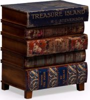 Antiqued Children's Book Side Cabinet  (Out of Stock Till End of May)