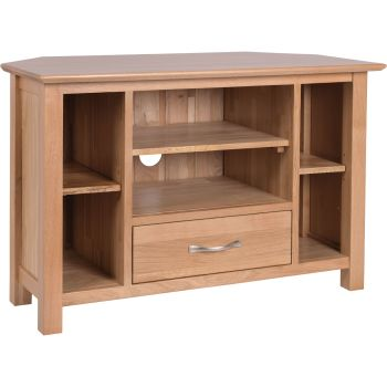 Katharine Oak TV Unit Corner