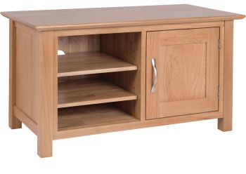 Katharine Oak TV Small Cabinet