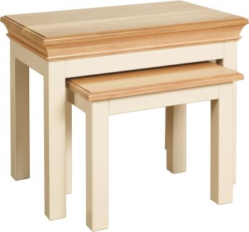 Amelia Coffee Table Nest of 2 Tables