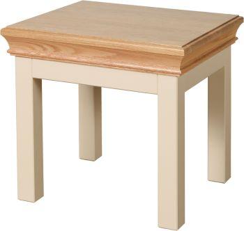 Amelia Side Table Truffle & Oak