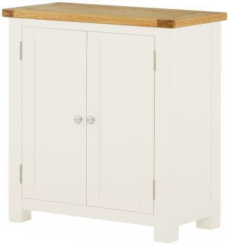 Stratton White Cabinet 1 Door