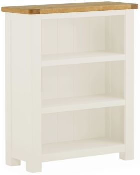 Stratton White Bookcase Small