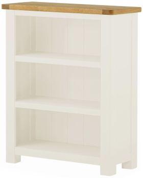 Stratton White Bookcase Small