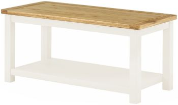 Stratton White Coffee Table Coffee