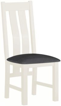 Stratton White Dining Chair